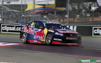 Jamie Whincup during practice
