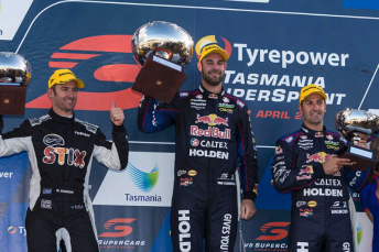 Van Gisbergen took another win in Race 4 at Symmons Plains