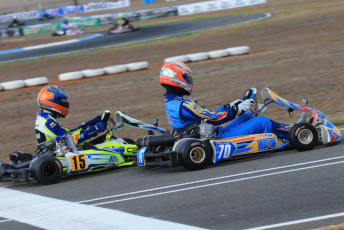 Queenslander Brendan Nelson secured his third consecutive TaG 125 win. Pic: Coopers Photography