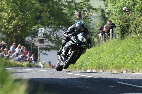 Ian Hutchinson had a day to remember at the Isle of Man TT