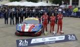 Davide Rigon (ITA) / Sam Bird (GBR) / Andrea Bertolini (ITA)  #71 AF Corse Ferrari 488 GTE,