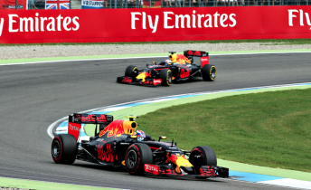 Red Bull score their first double podium of the season at the German Grand Prix