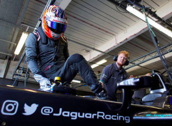 Mitch Evans tested with Jaguar last month