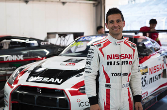 Caruso has already tested the GT-R in Japan and Australia