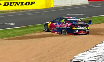 Whincup caused the session's only red flag