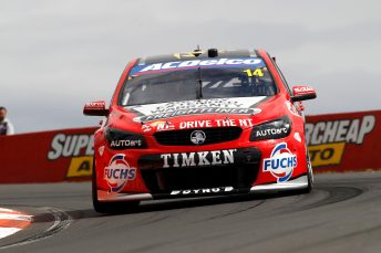 The #14 Tim Slade/Ash Walsh fought back from two laps down at Mount Panorama pic: PSP Images