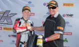 Van Eerde wins Pirelli's 'Rider of the Round Award'