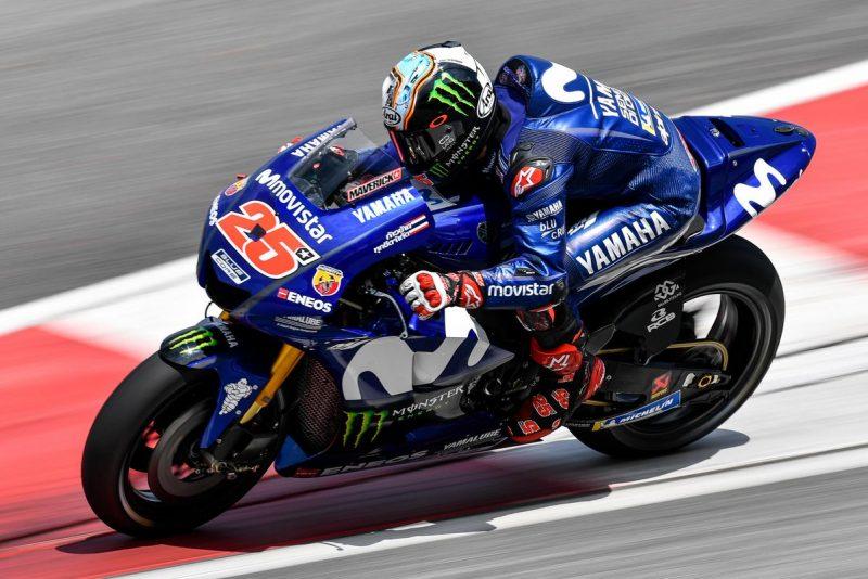 Yamahas set pace on Day 2 of Sepang test - Speedcafe