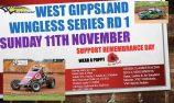 Wingless and Mini Sprints headline Drouin Speedway this Sunday