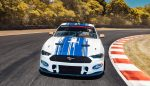 Mustang Supercar on track - front view 4