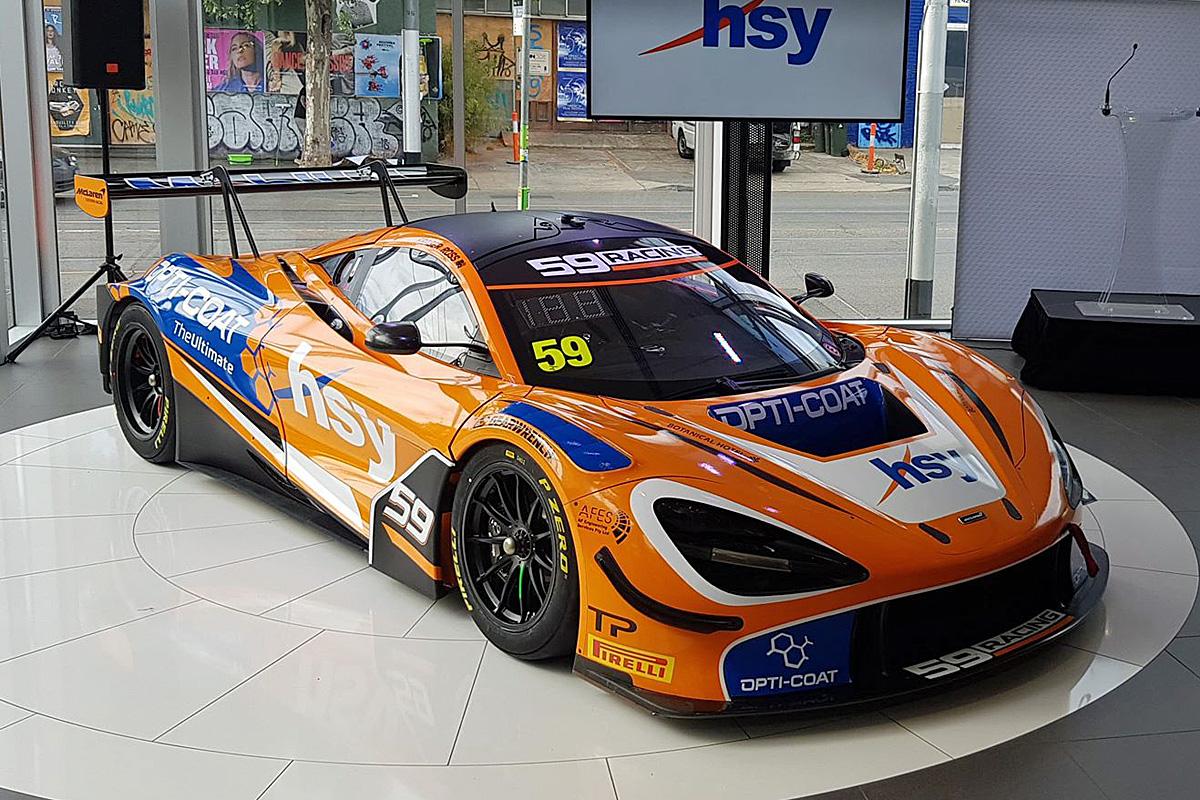 59Racing launches McLaren 720S GT3 in Melbourne - Speedcafe