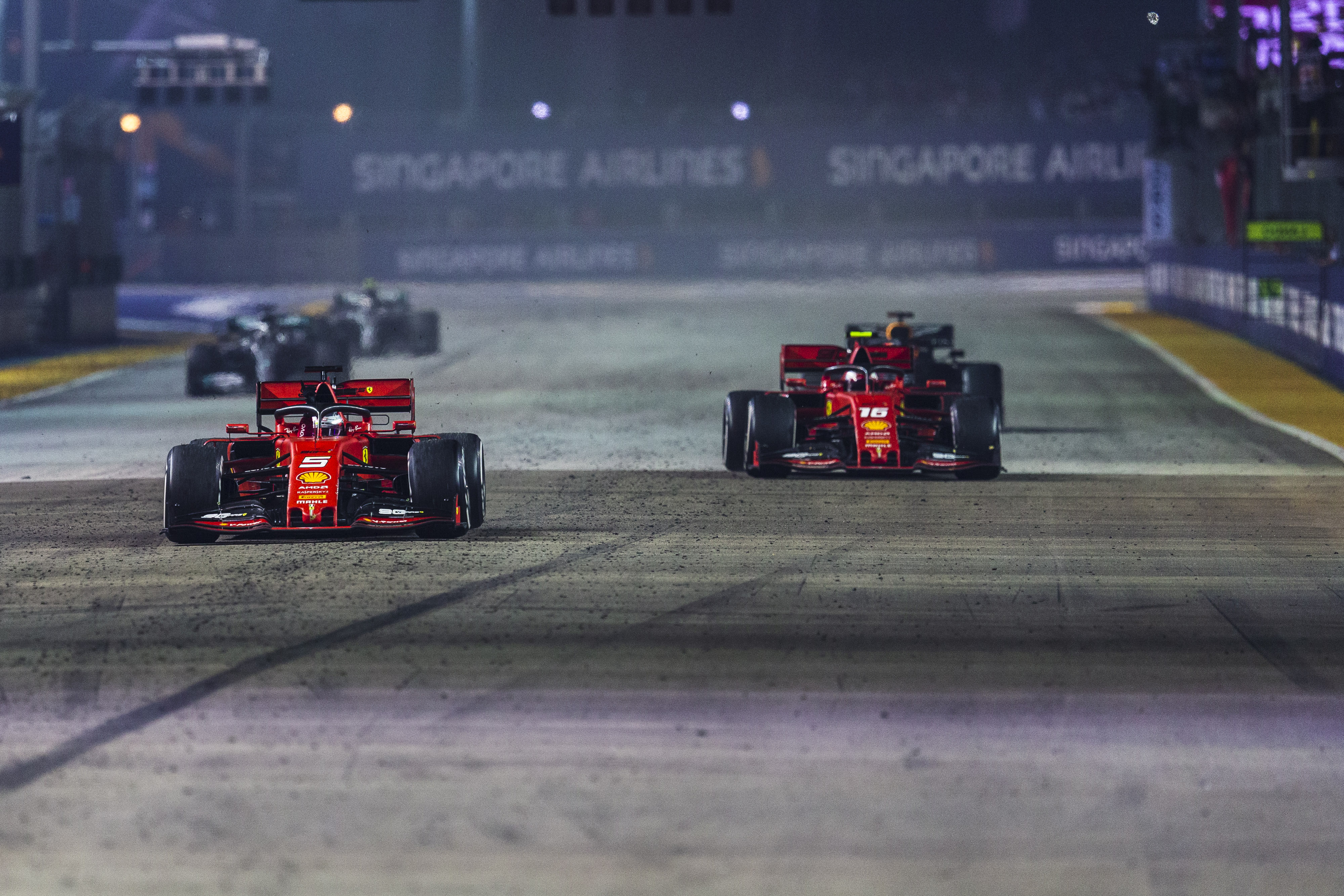 Ferrari considered giving Leclerc Singapore win