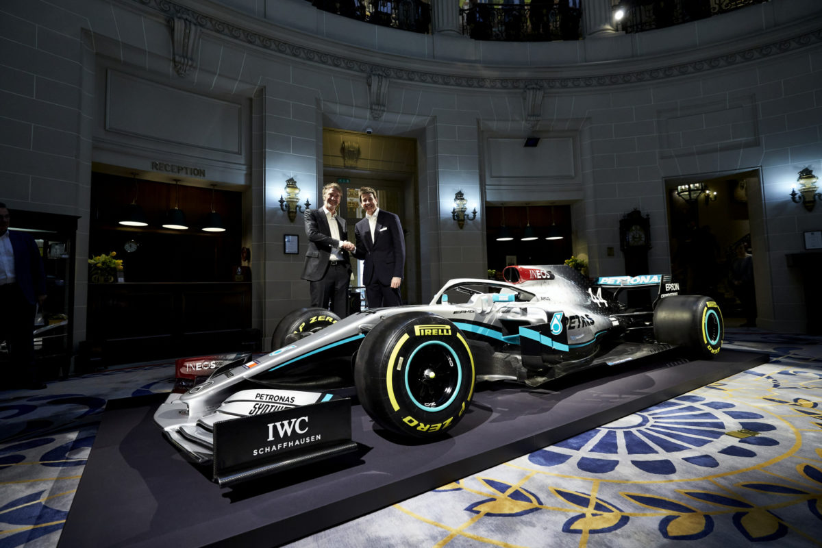Subtle tweaks for Mercedes' 2020 F1 livery - Speedcafe