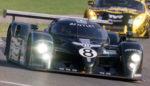 US David Brabham steers his Bentley n?8