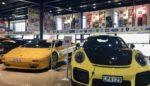 Lanborghini Diablo and Porsche GT2RS