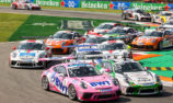 Jordan Love finishes on podium in Porsche Mobil1 Supercup finale