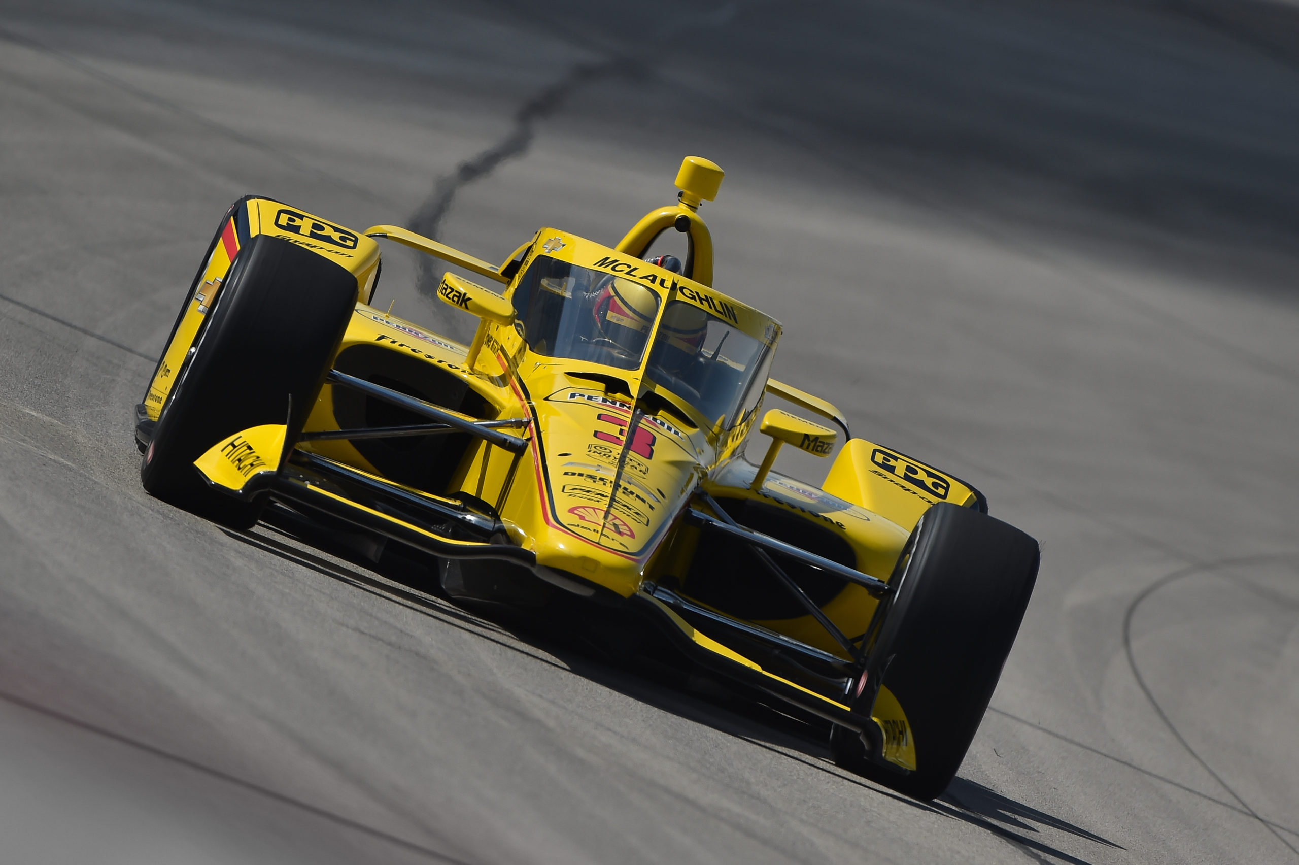 McLaughlin edges out Indy 500 winners in Texas test - Speedcafe