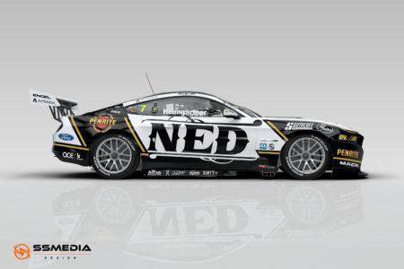 2022 Gen3 Mustang AH NED Racing side view