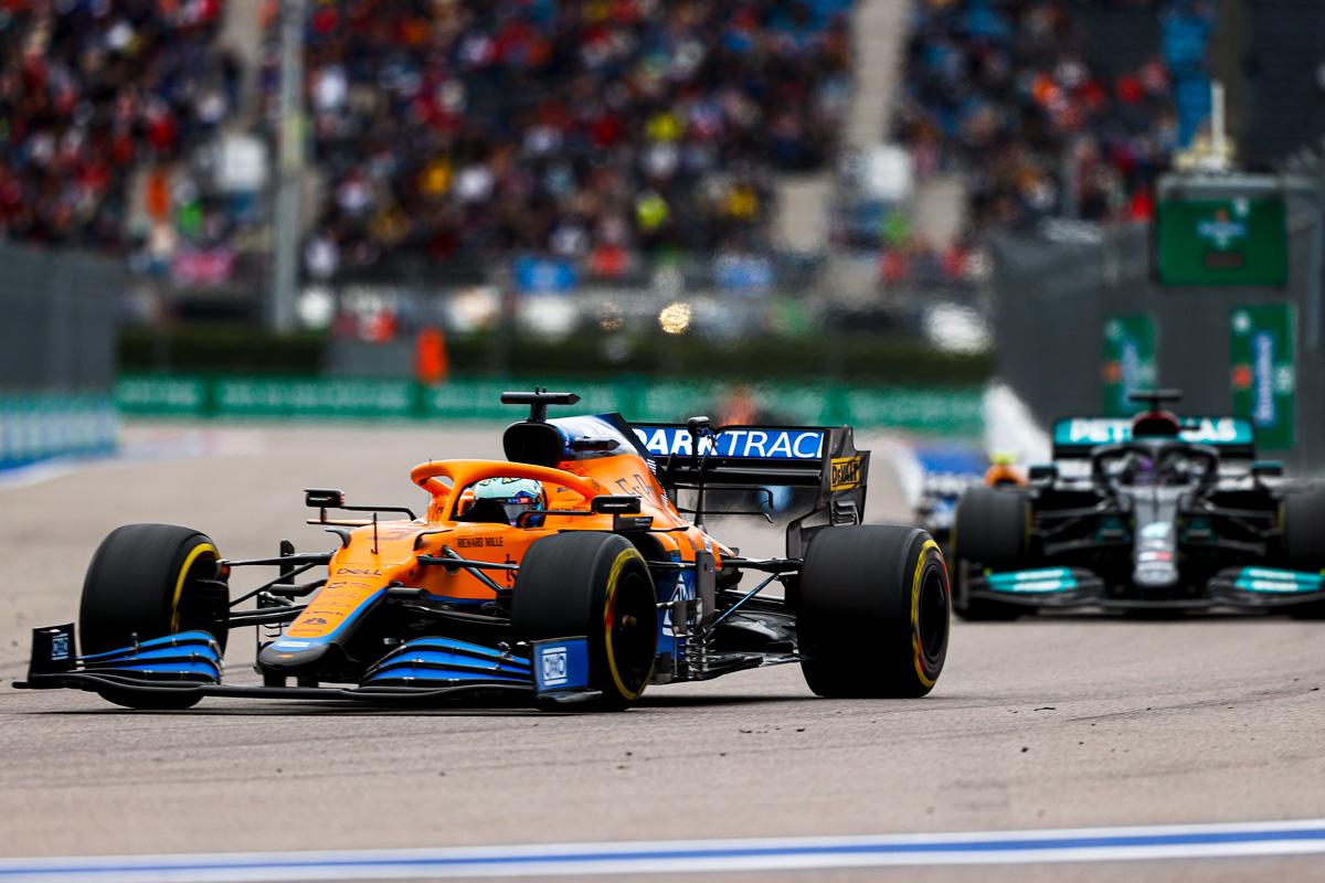 Ricciardo: 'My start was kinda too good!'